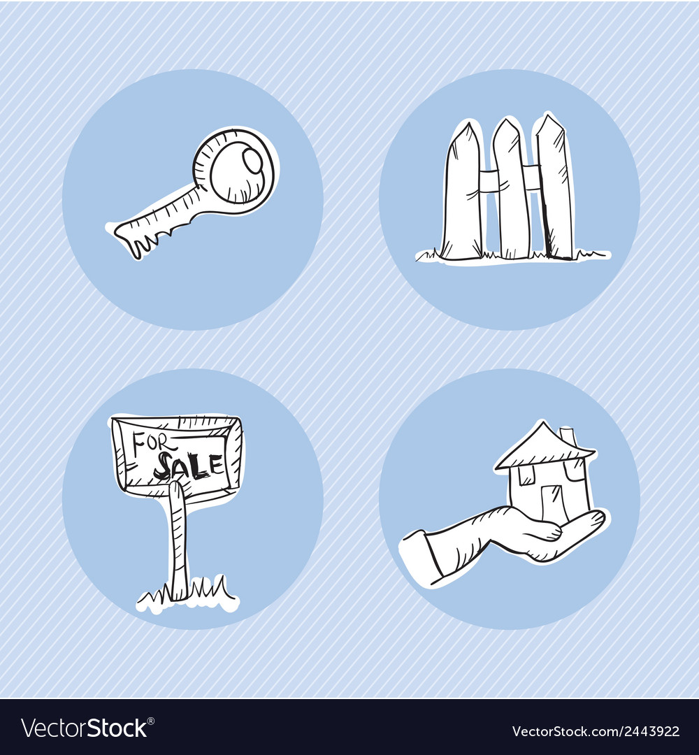 Rent icons vector | Price: 1 Credit (USD $1)