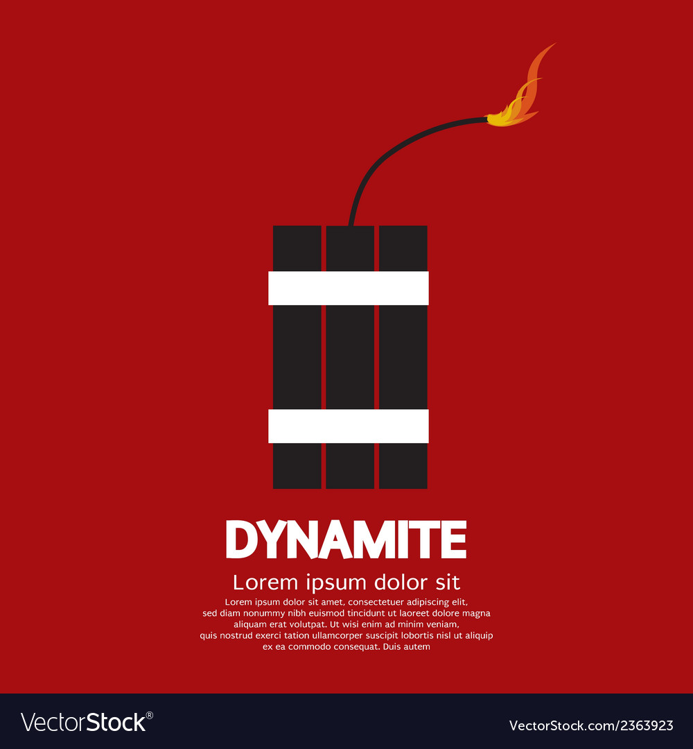 Dynamite vector | Price: 1 Credit (USD $1)