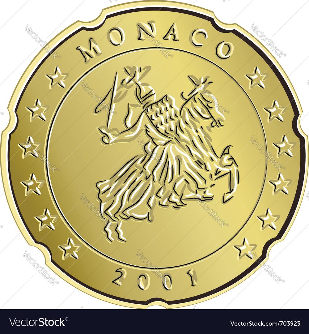 Gold monaco money vector | Price: 1 Credit (USD $1)