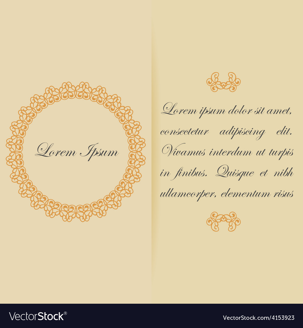 Greeting card or invitation design in warm colors vector | Price: 1 Credit (USD $1)