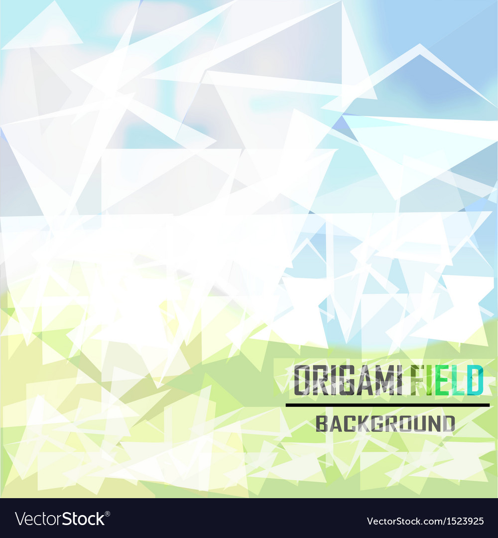 Green field background vector | Price: 1 Credit (USD $1)