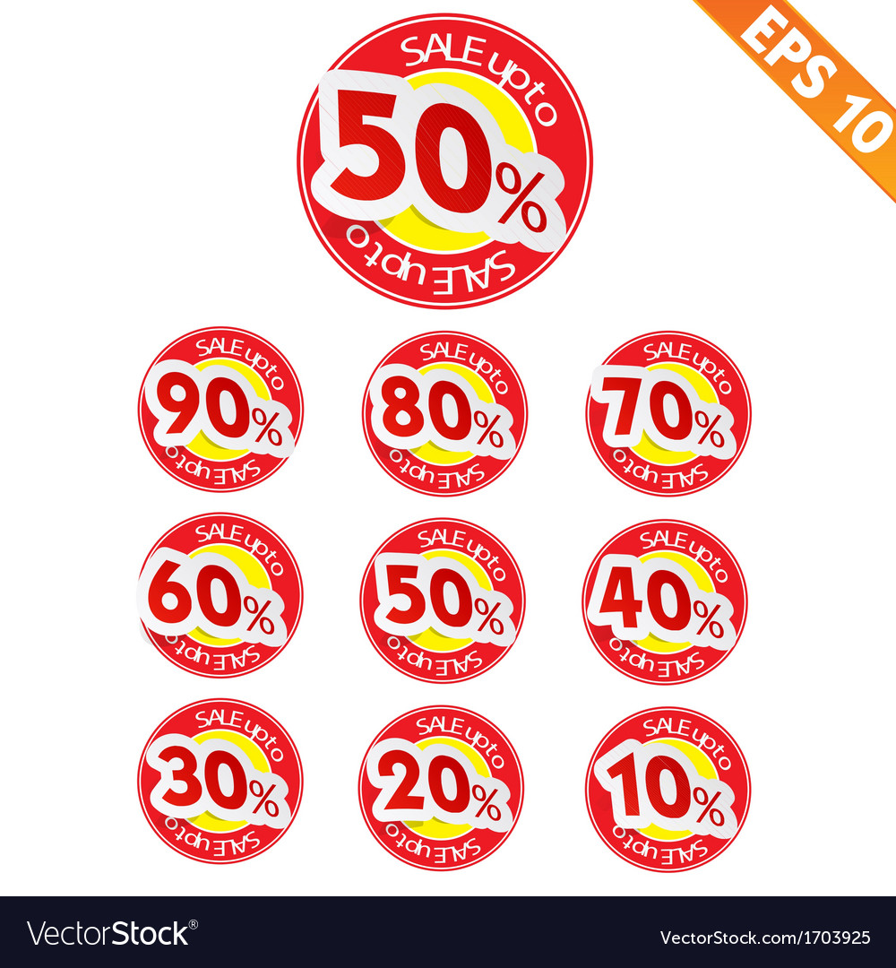 Sale sticker tag - - eps10 vector | Price: 1 Credit (USD $1)