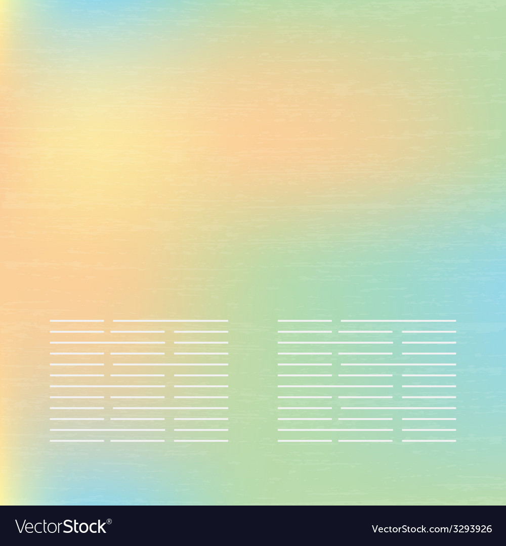 Abstract soft banners set purple green blue yellow vector | Price: 1 Credit (USD $1)