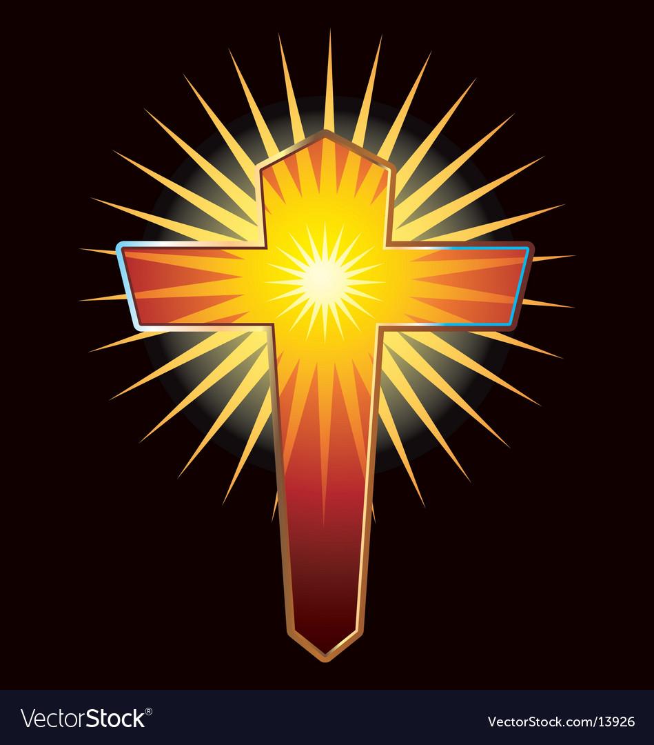 Christian cross vector   Price: 1 Credit (USD $1)