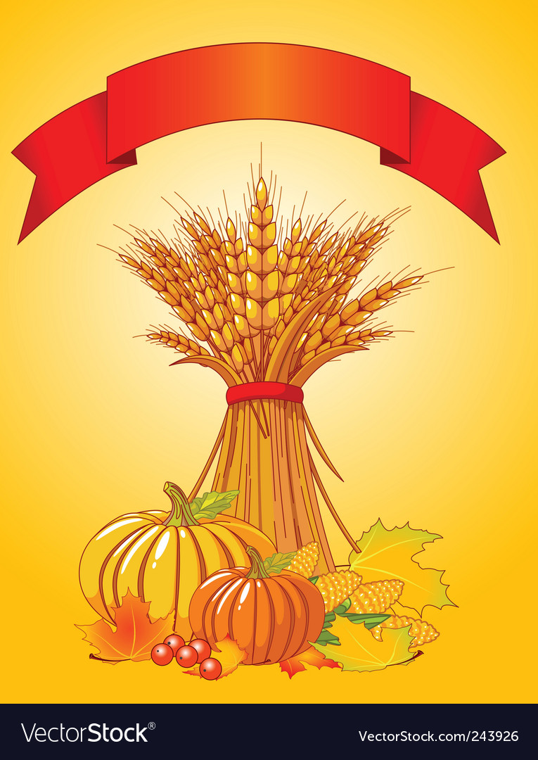 Harvest background vector | Price: 3 Credit (USD $3)