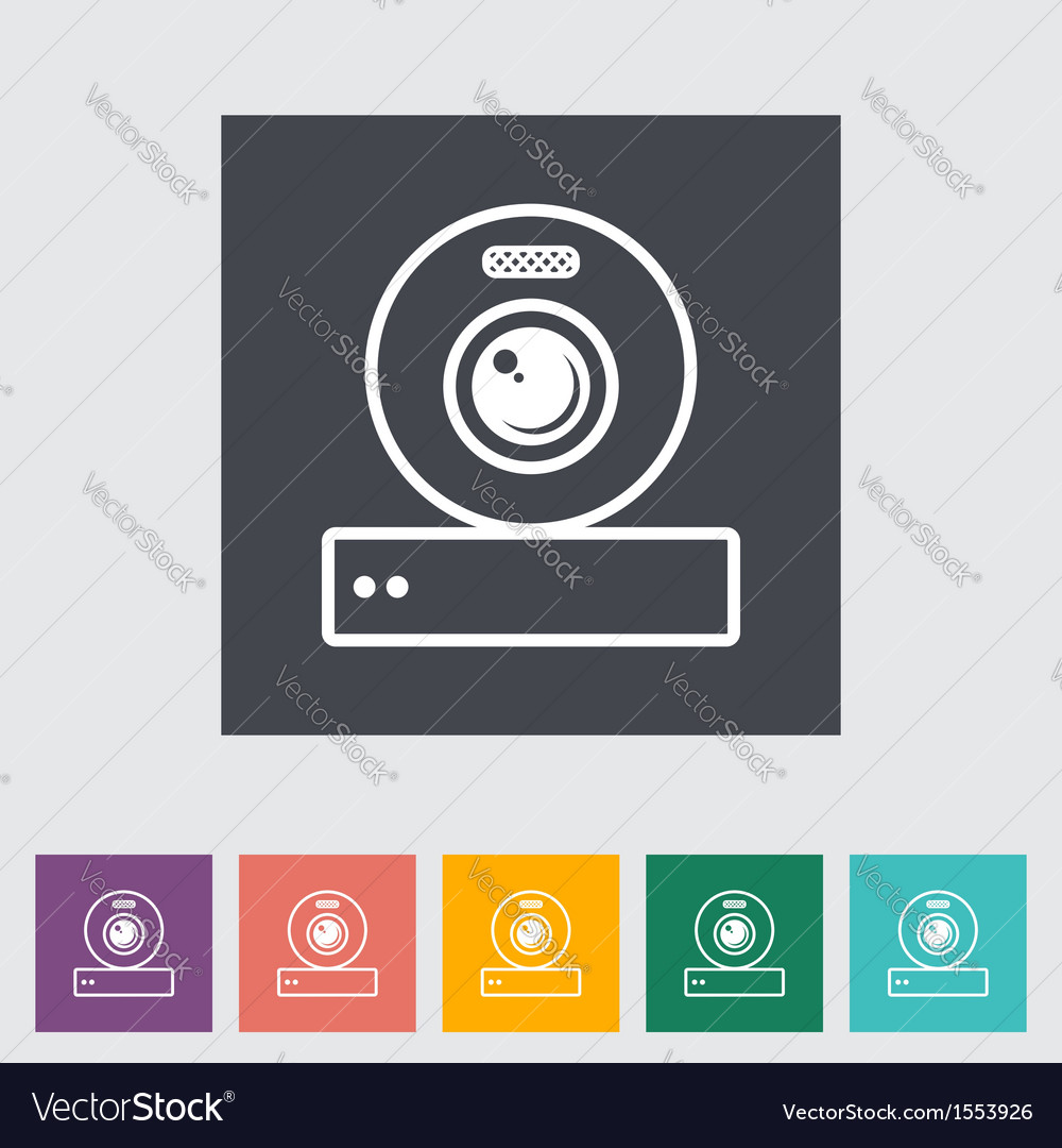 Web cam vector | Price: 1 Credit (USD $1)