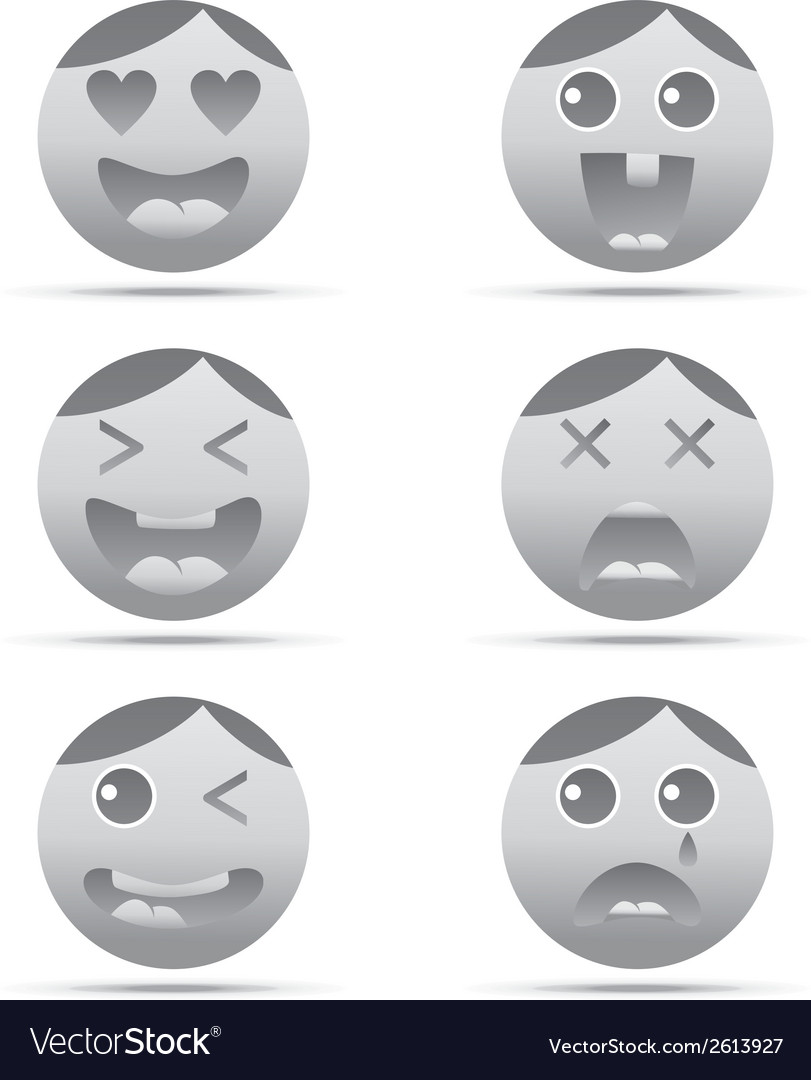 Emoticon design vector | Price: 1 Credit (USD $1)
