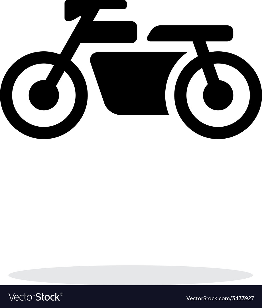 Motorbike simple icon on white background vector | Price: 1 Credit (USD $1)