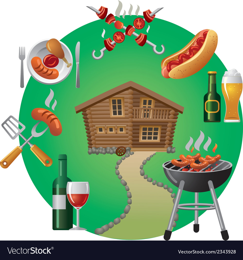 Barbecue vector | Price: 3 Credit (USD $3)