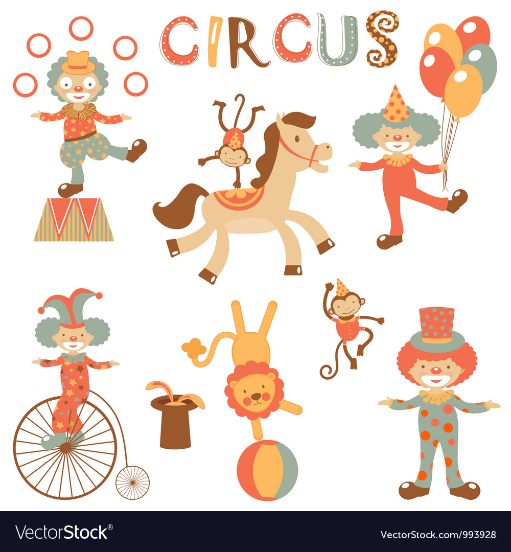 Circus performance vector | Price: 3 Credit (USD $3)