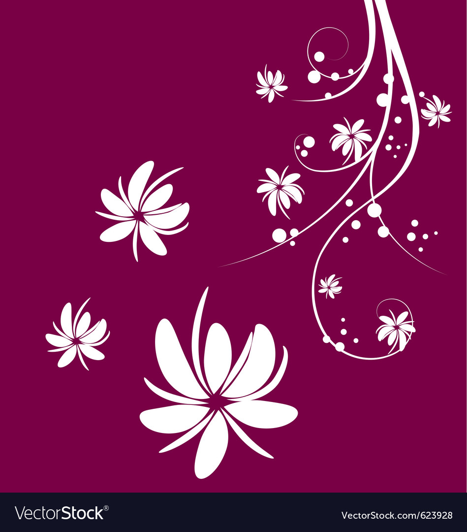 Flower tree vector | Price: 1 Credit (USD $1)