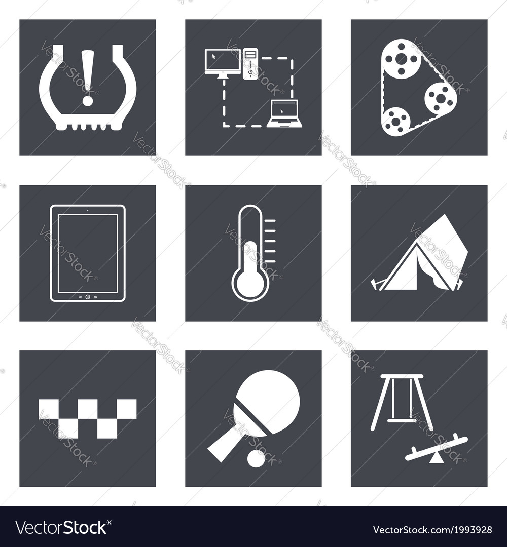 Icons for web design set 30 vector | Price: 1 Credit (USD $1)