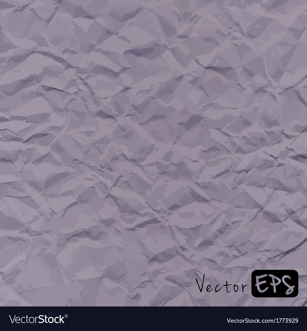 Abstract gray background crumpled old paper vector | Price: 1 Credit (USD $1)