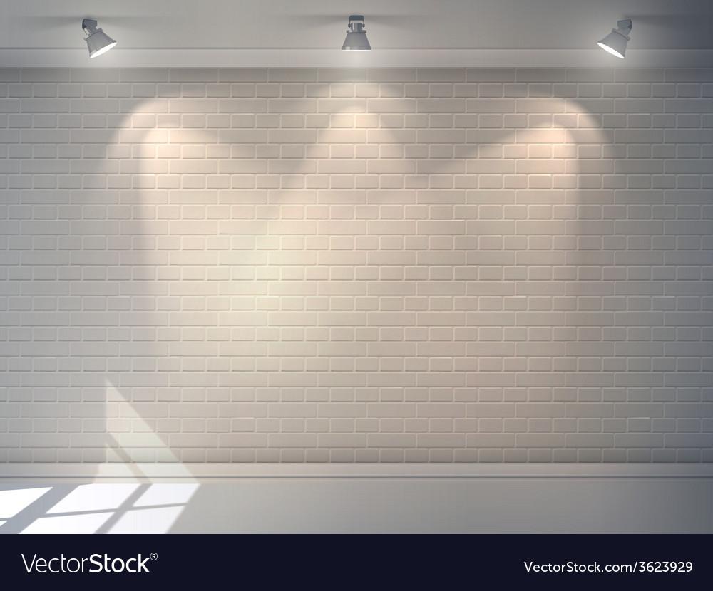 Brick wall realistic vector | Price: 1 Credit (USD $1)