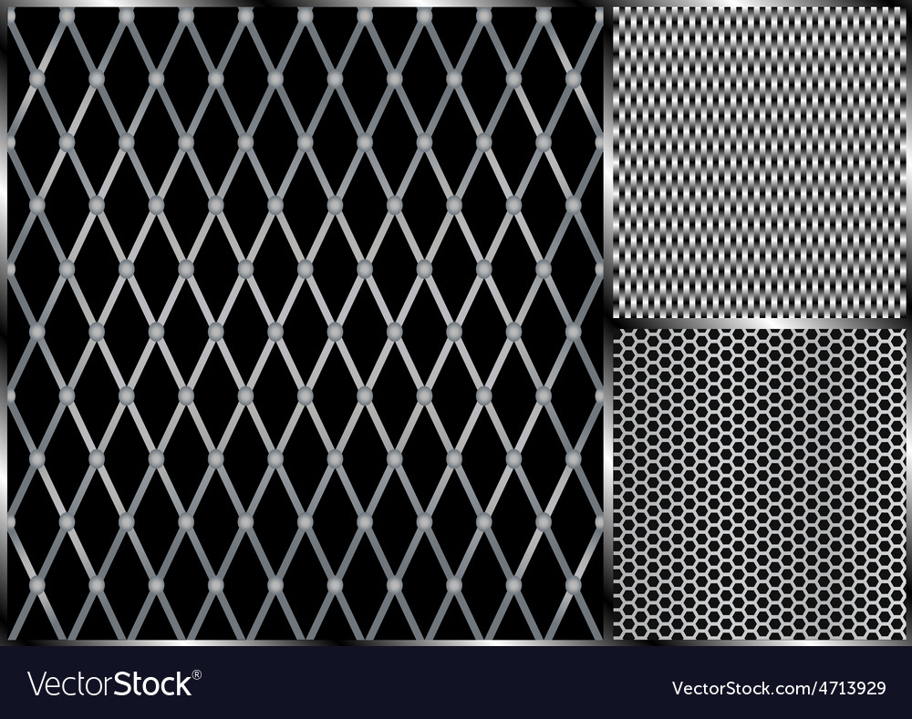 Metal grill seamless vector | Price: 1 Credit (USD $1)