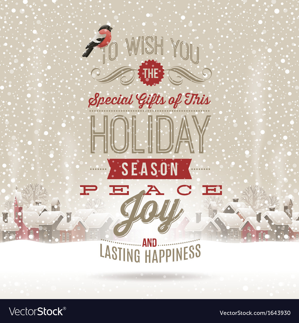Christmas lettering greetings vector | Price: 1 Credit (USD $1)