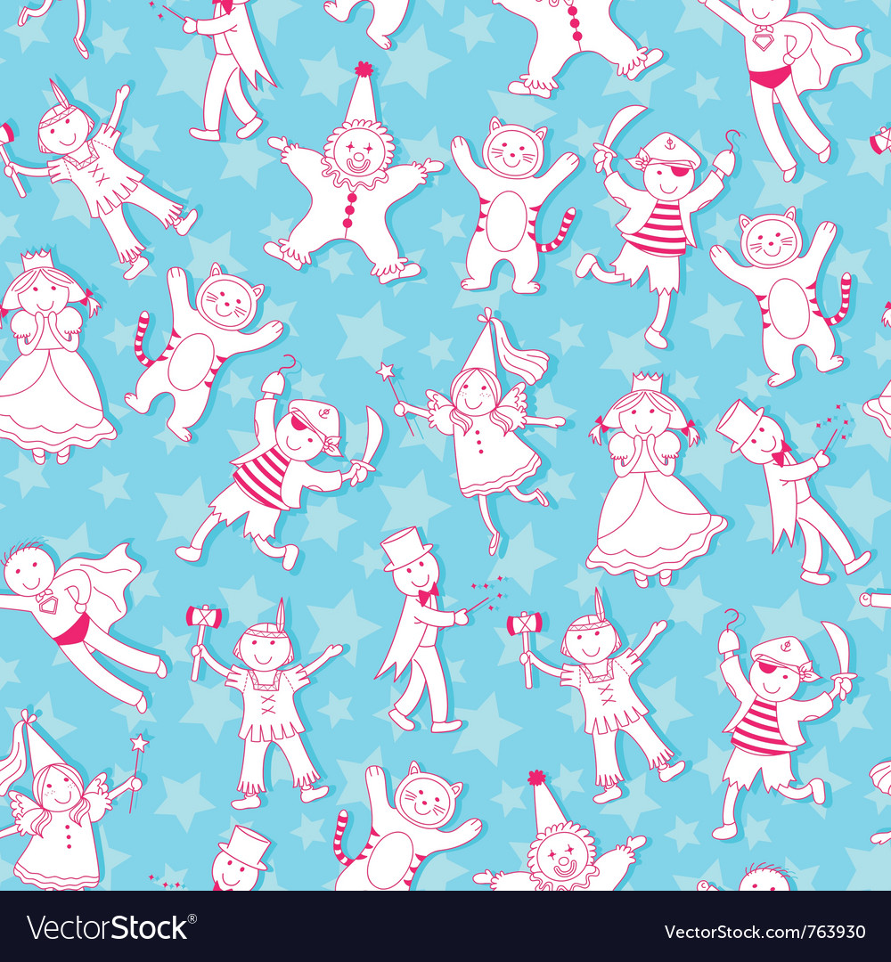 Costumes pattern vector | Price: 1 Credit (USD $1)