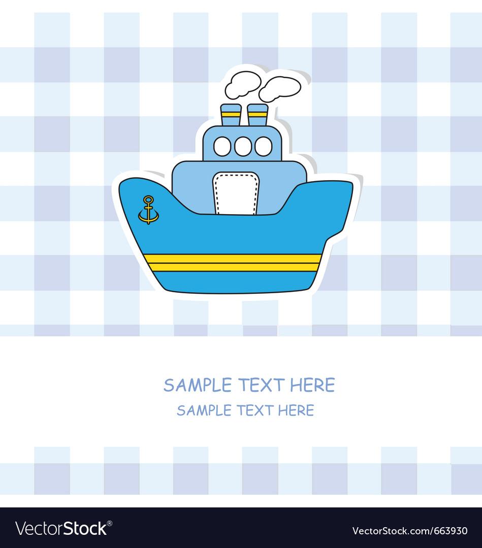 Steamboat vector | Price: 1 Credit (USD $1)