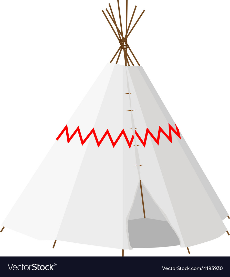 Wigwam with pattern vector | Price: 1 Credit (USD $1)