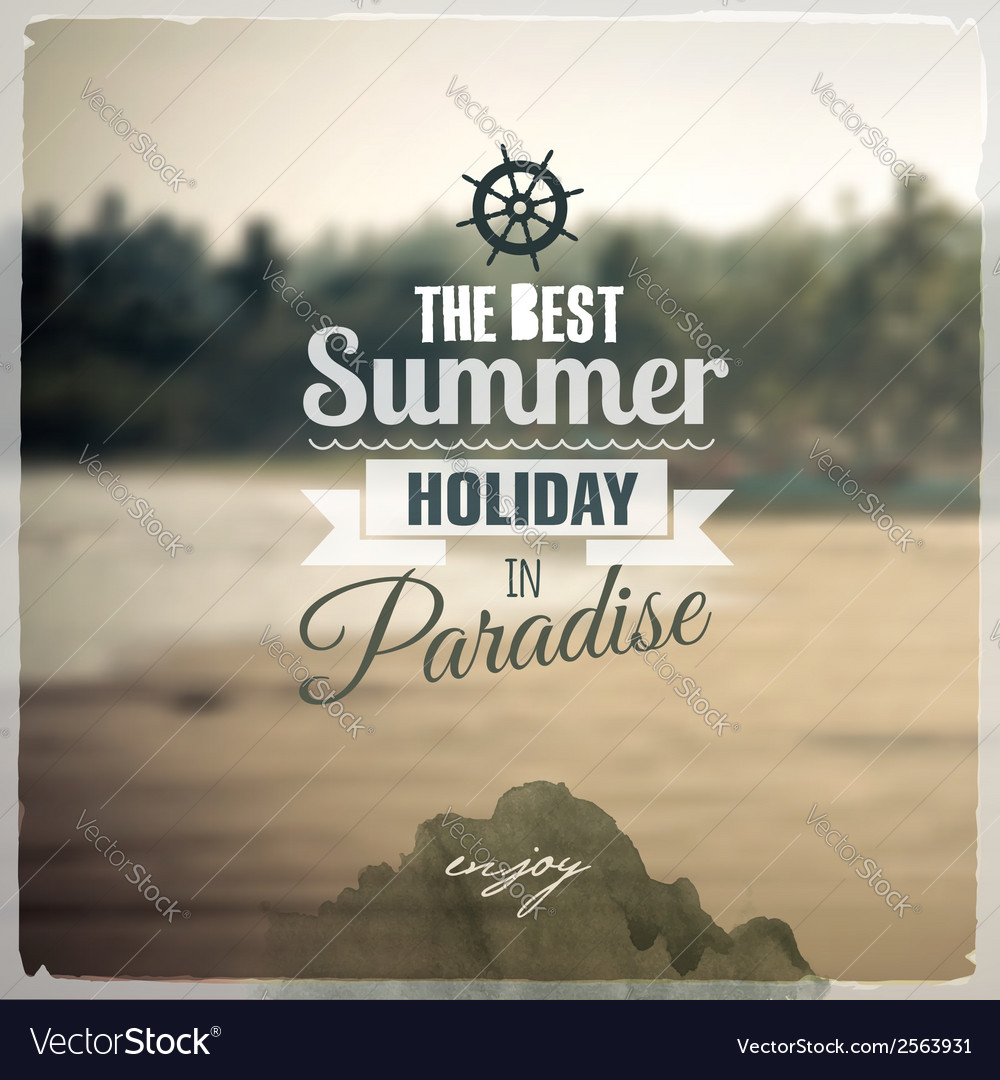 Creative graphic message for your travel design vector | Price: 1 Credit (USD $1)