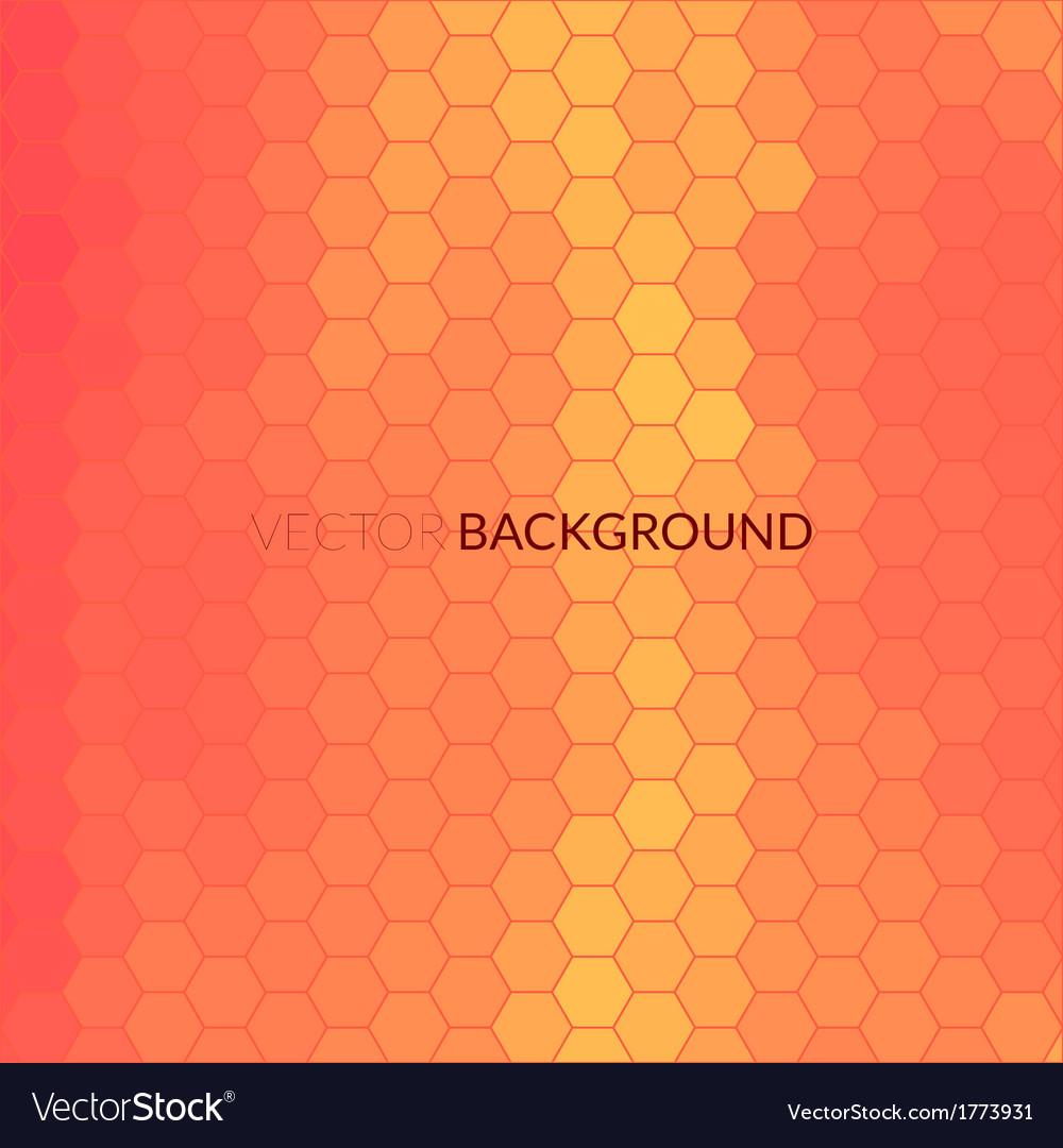 Digital hexagon pixel mosaic background vector   Price: 1 Credit (USD $1)