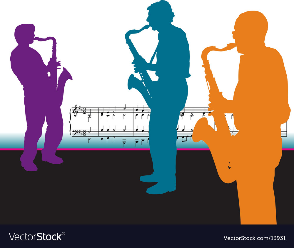 Sax-guys vector | Price: 1 Credit (USD $1)