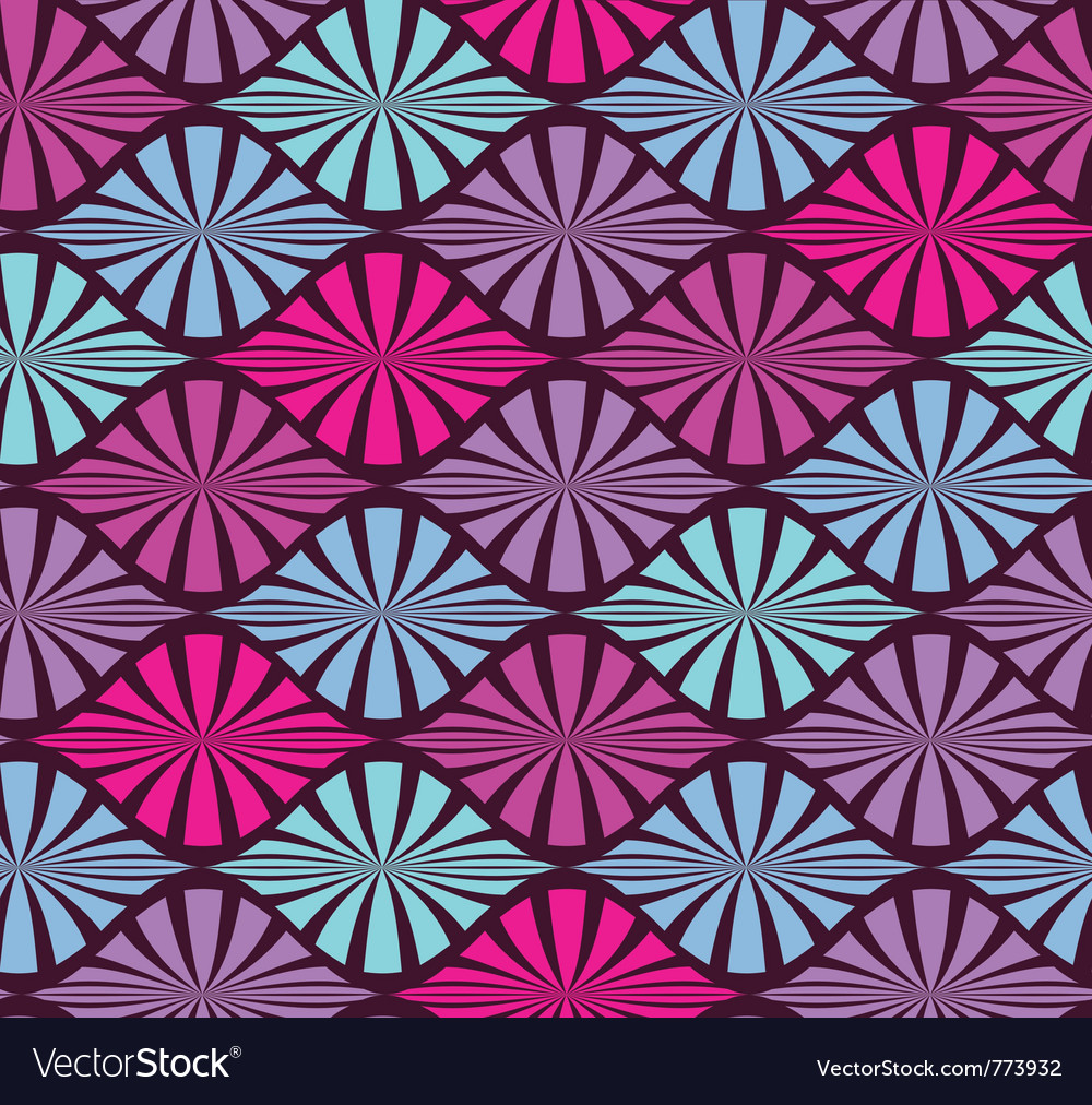 Abstract color seamless geometric pattern vector | Price: 1 Credit (USD $1)