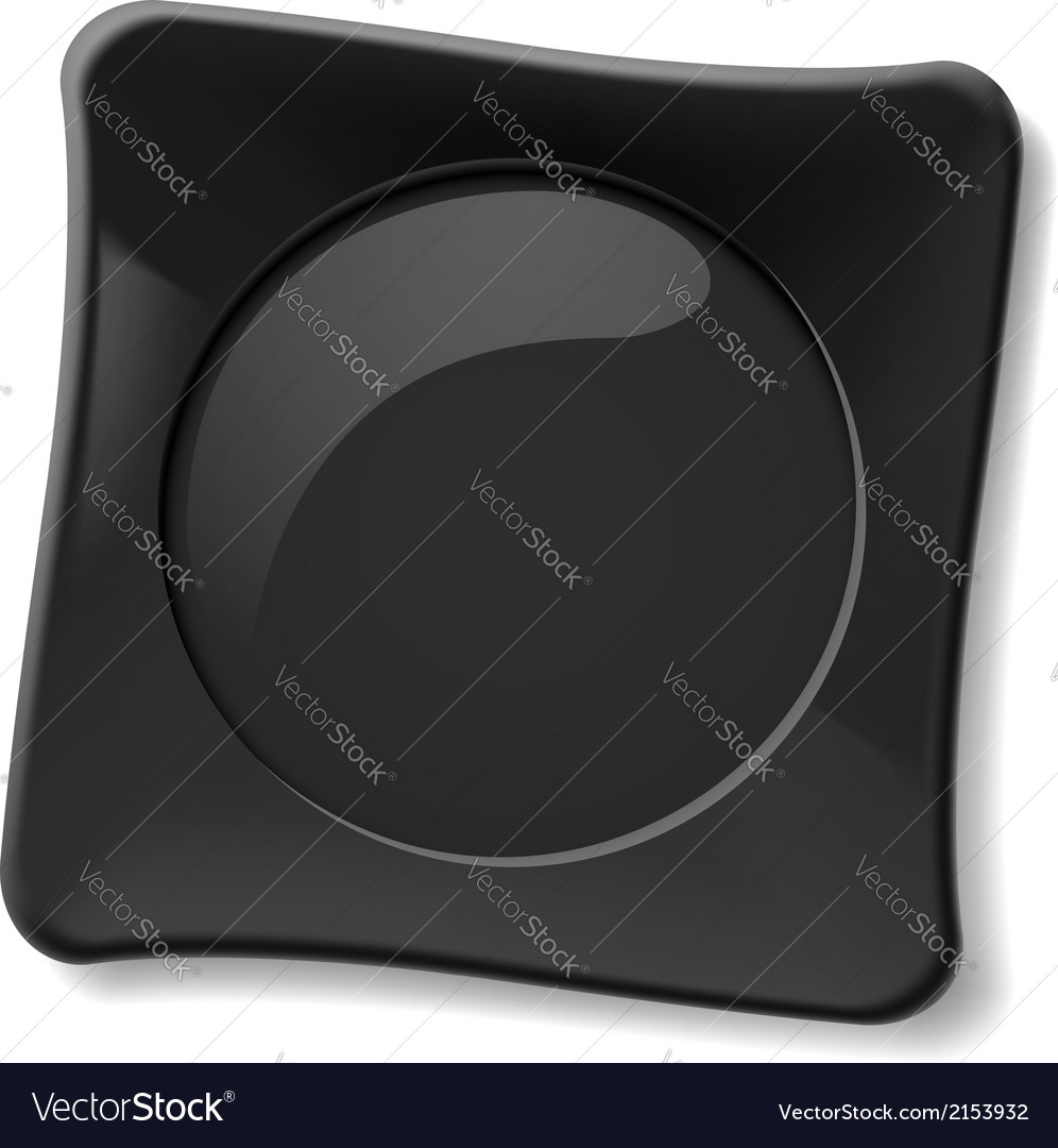 Black plate vector | Price: 1 Credit (USD $1)