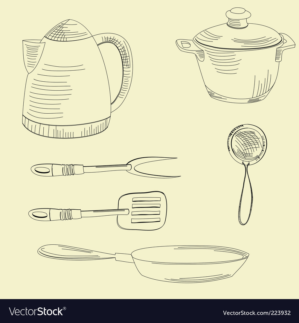 Dishes vector | Price: 1 Credit (USD $1)