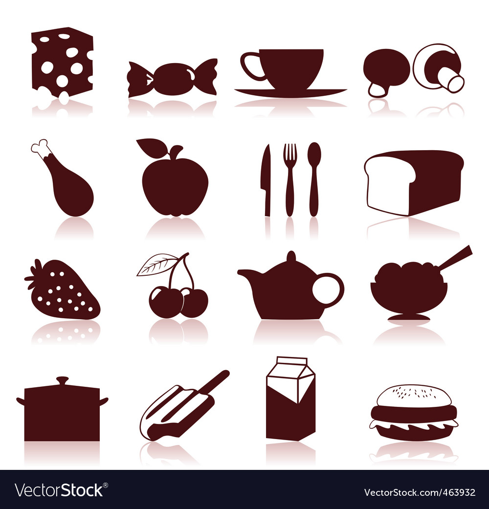 Food icon4 vector | Price: 1 Credit (USD $1)