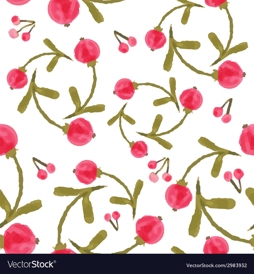 Handpaint watercolor seamless pattern vector | Price: 1 Credit (USD $1)