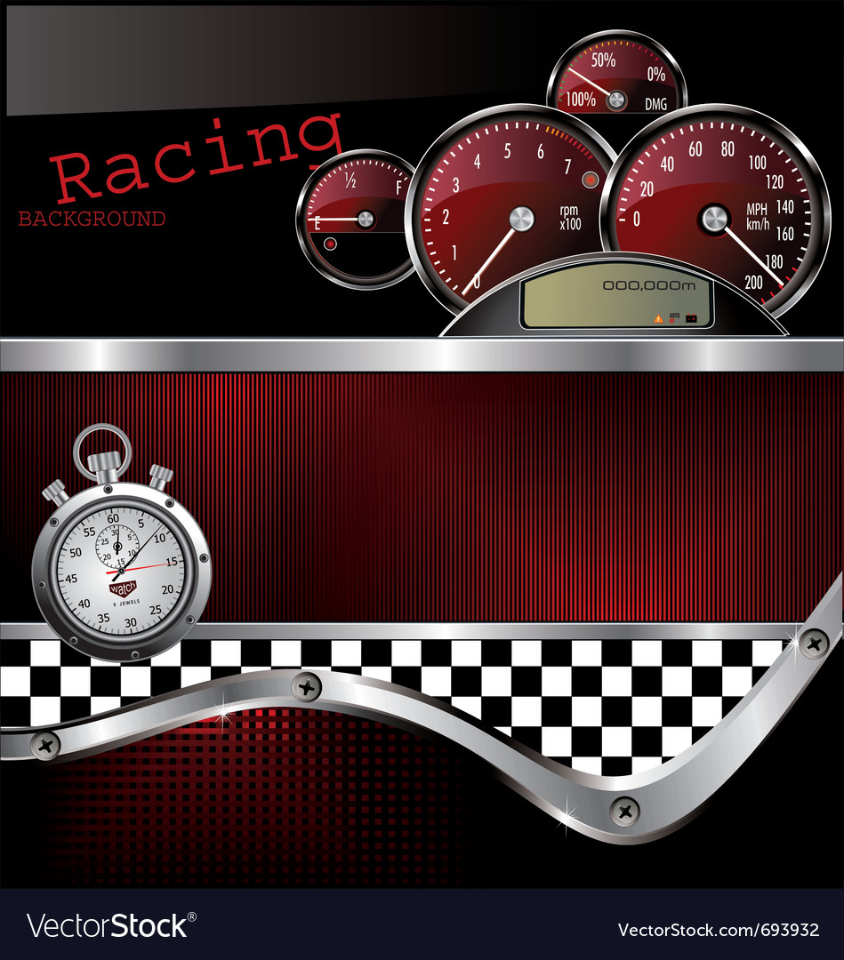 Racing background vector | Price: 1 Credit (USD $1)