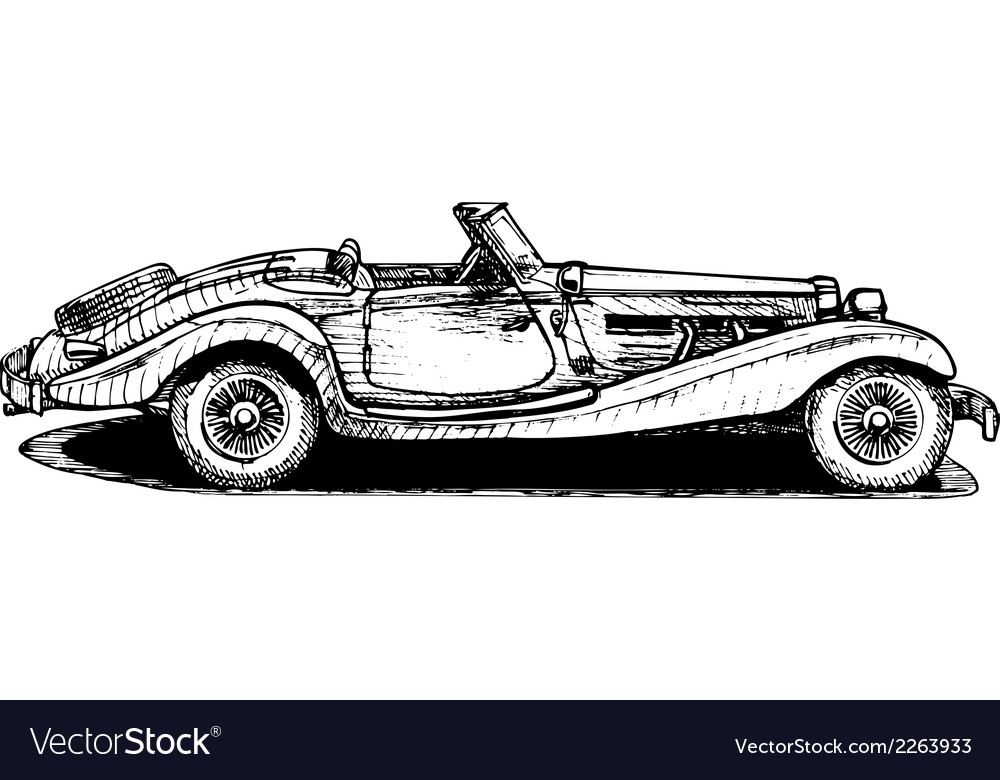 Cabriolet vector | Price: 1 Credit (USD $1)
