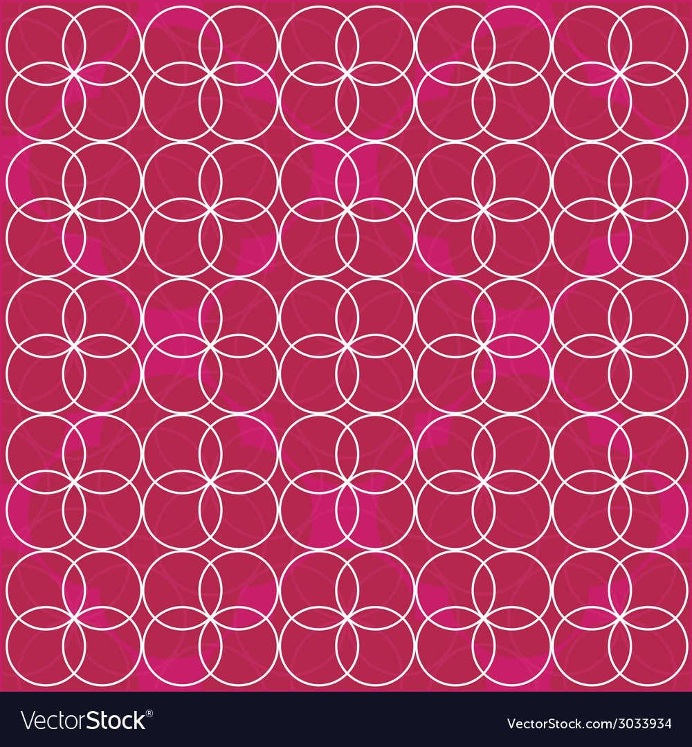 Pattern pink circle vector | Price: 1 Credit (USD $1)