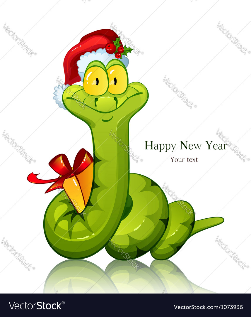 Snake symbol of new 2013 year with vector | Price: 3 Credit (USD $3)