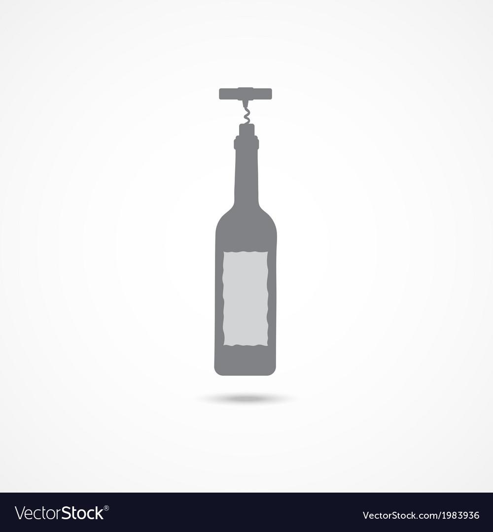 Wine icon vector | Price: 1 Credit (USD $1)