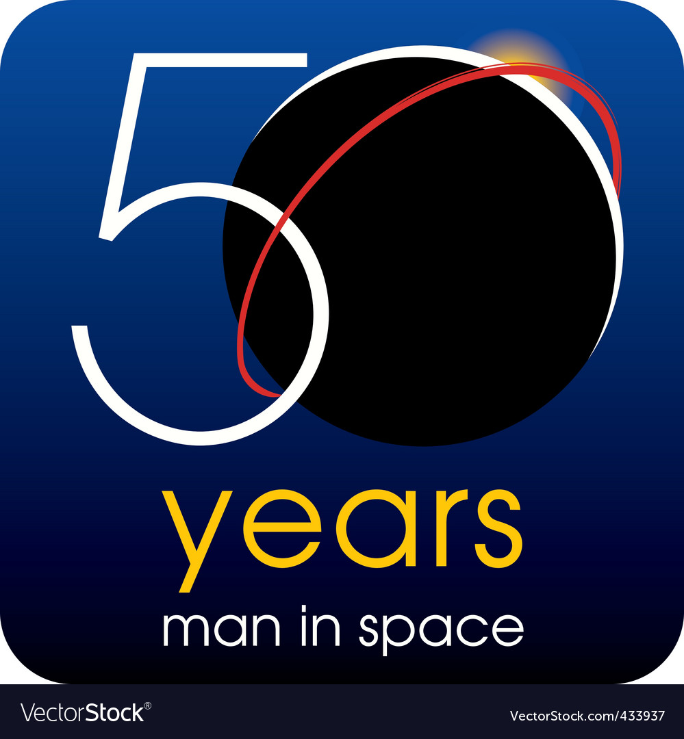 50 years vector | Price: 1 Credit (USD $1)