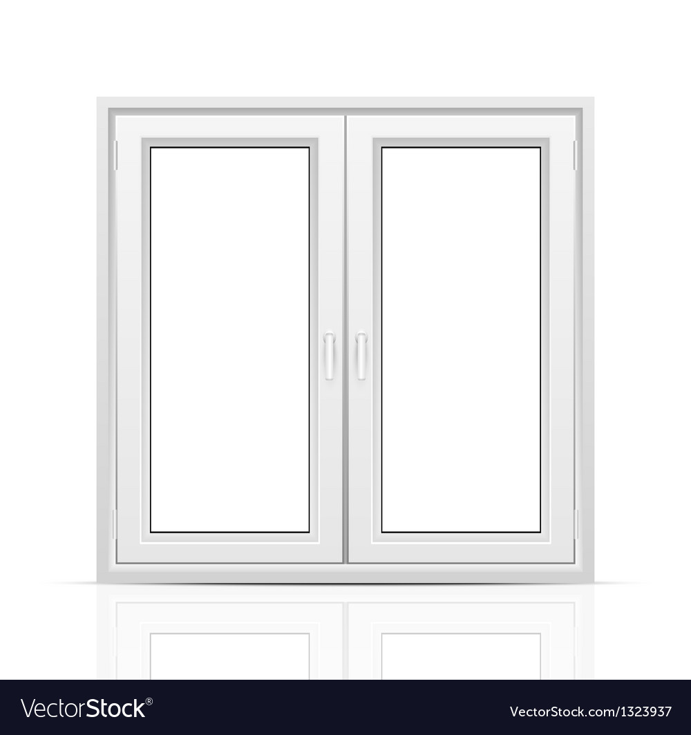 Closed window vector | Price: 1 Credit (USD $1)