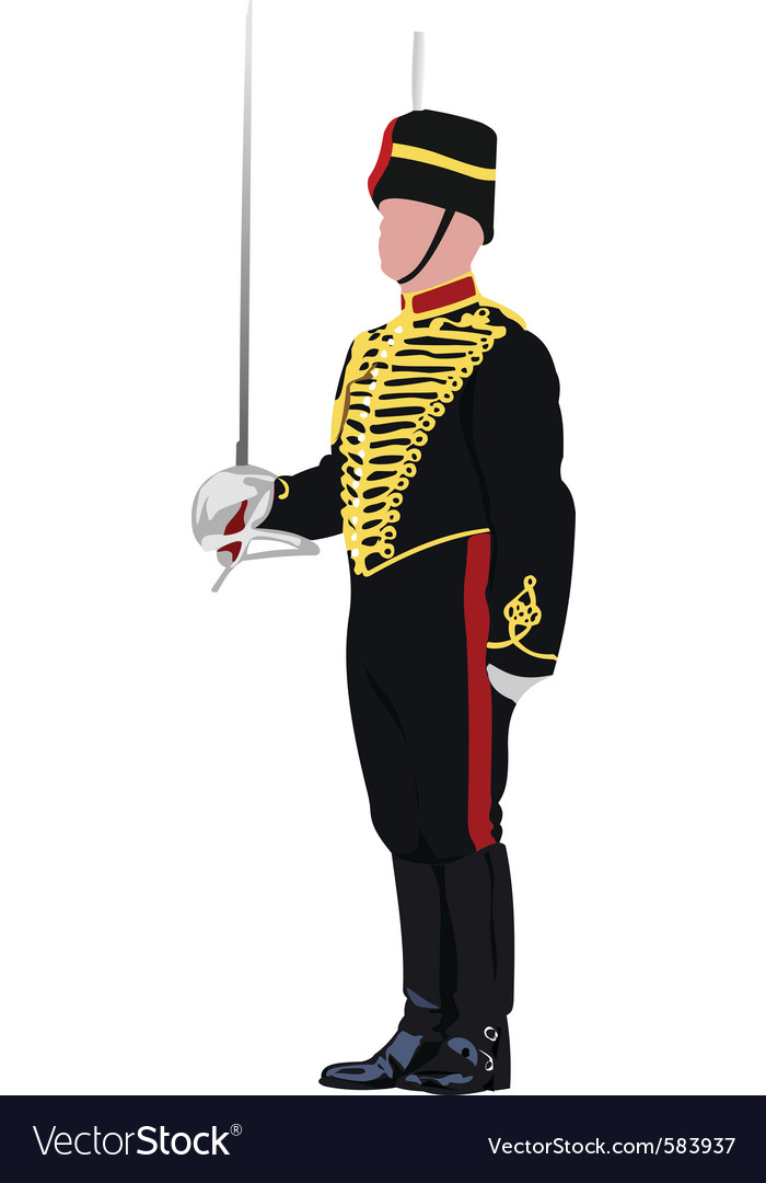 English guard vector | Price: 1 Credit (USD $1)