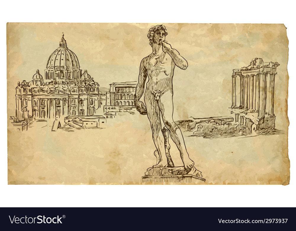 Rome vector | Price: 1 Credit (USD $1)