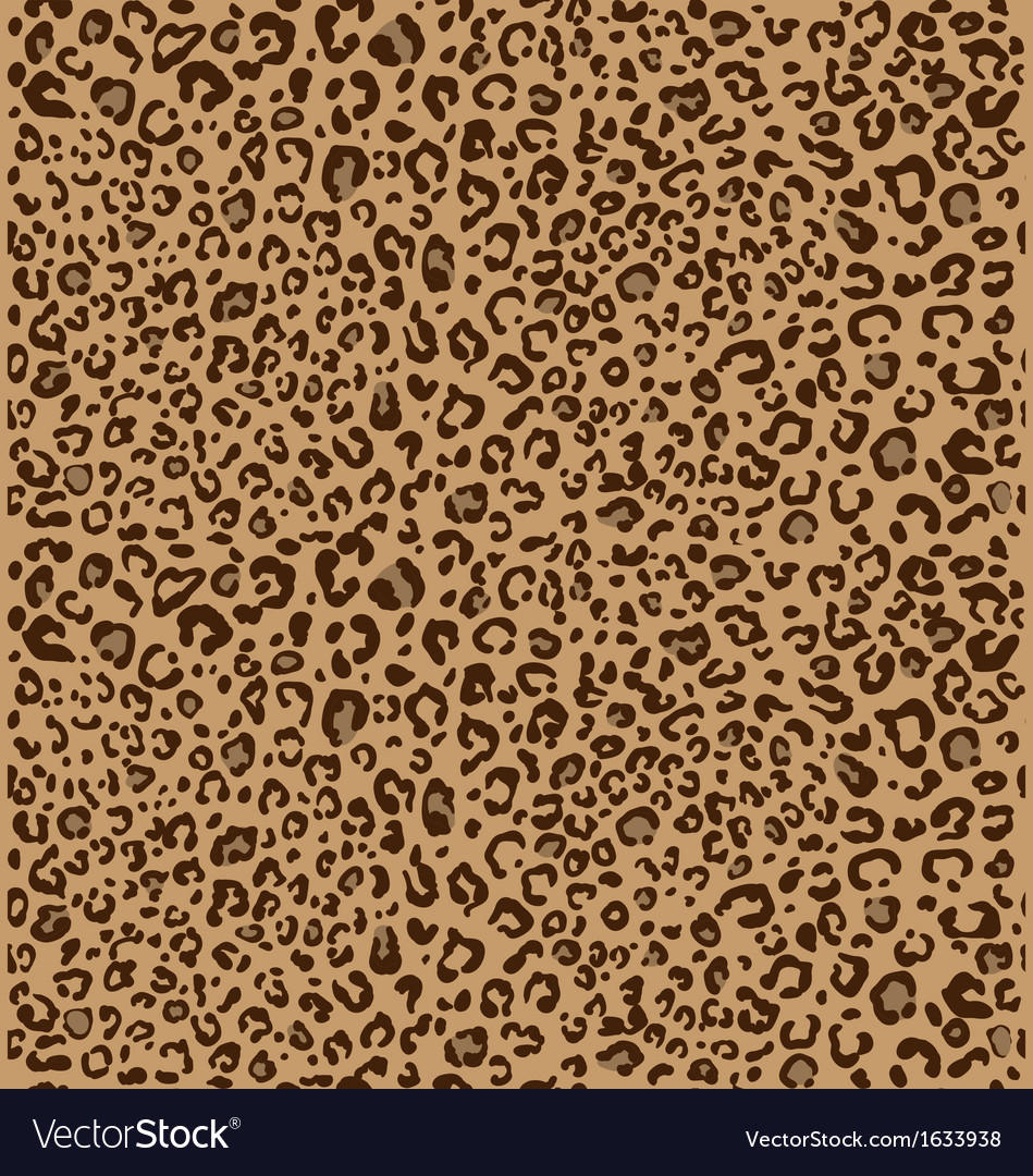 Cheetah seamless pattern 3 colors vector | Price: 1 Credit (USD $1)