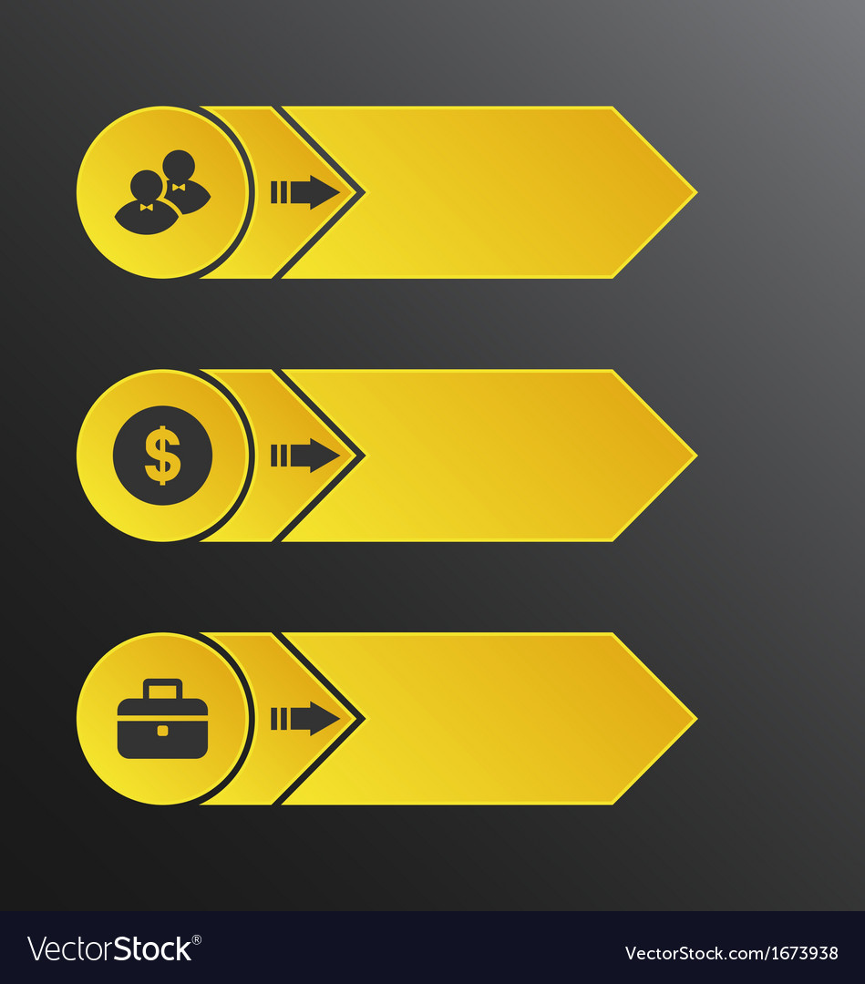 Modern design banners with info graphic business vector   Price: 1 Credit (USD $1)