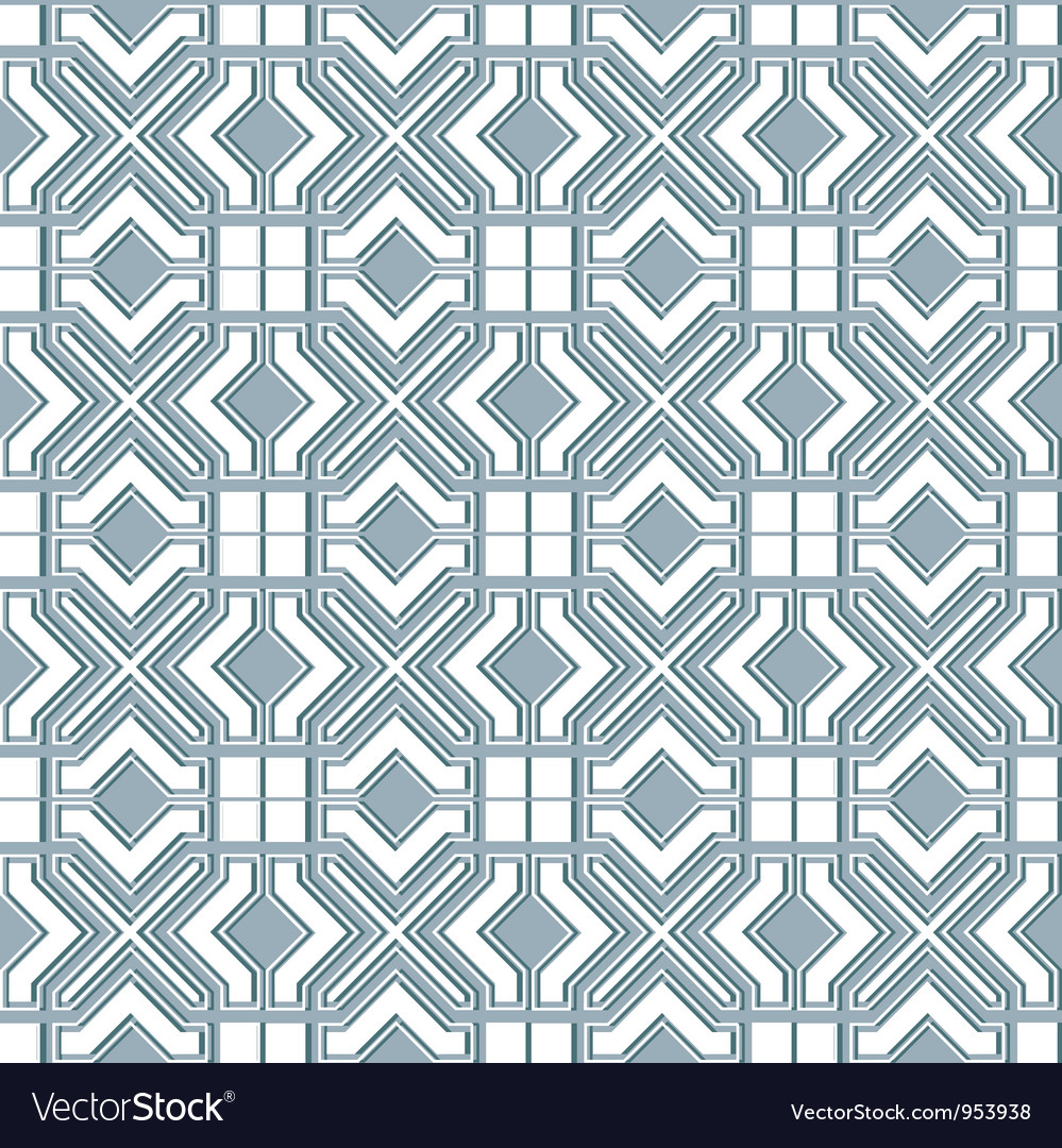 Seamless geometric background in islamic style vector | Price: 1 Credit (USD $1)
