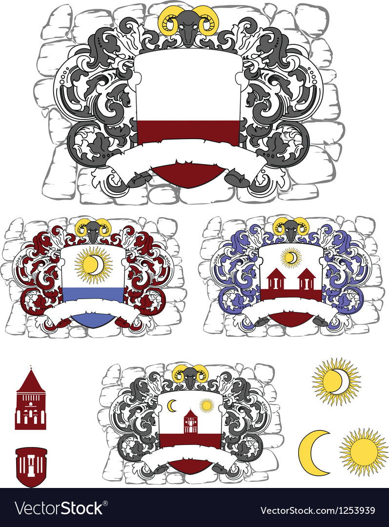 Coats of arms vector | Price: 3 Credit (USD $3)