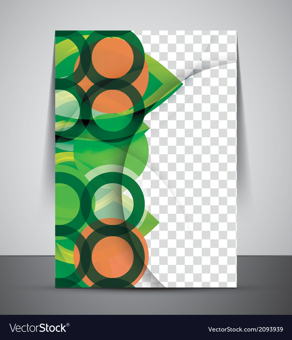 Green design business corporate print template vector   Price: 1 Credit (USD $1)