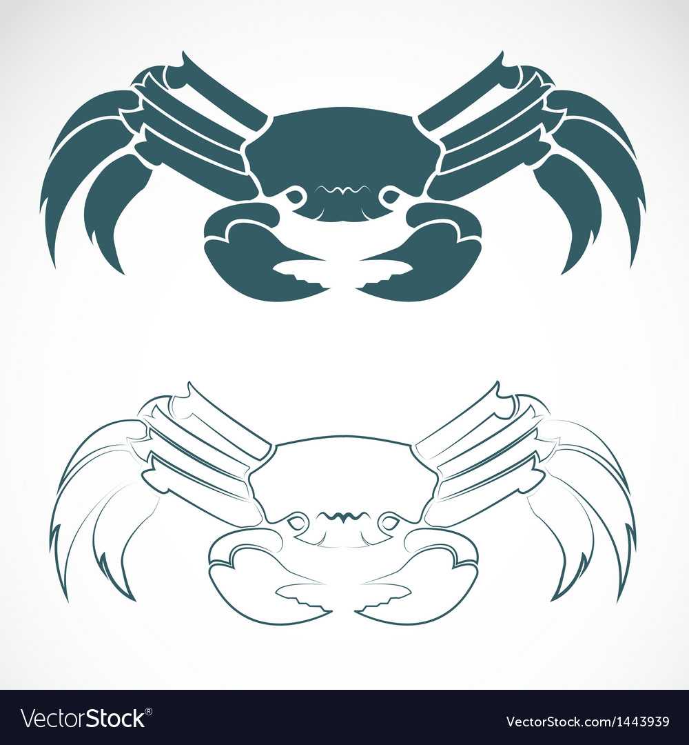 Image of an crab vector | Price: 1 Credit (USD $1)