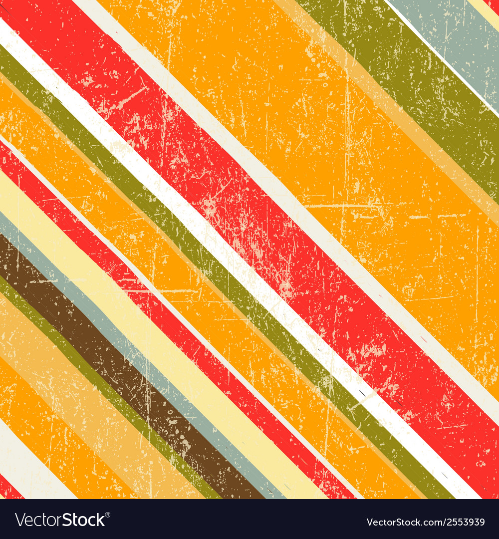 Vintage seamless strips background vector | Price: 1 Credit (USD $1)