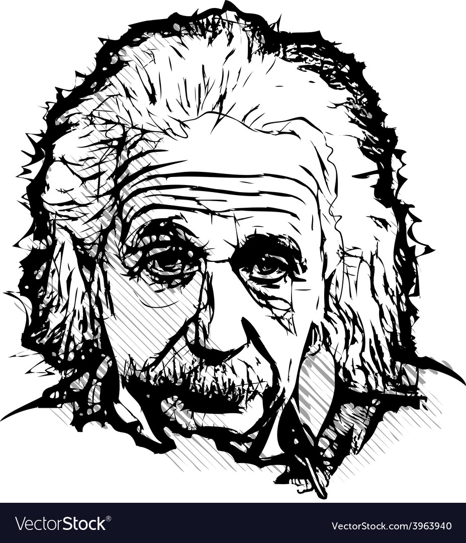 Albert einstein vector | Price: 1 Credit (USD $1)