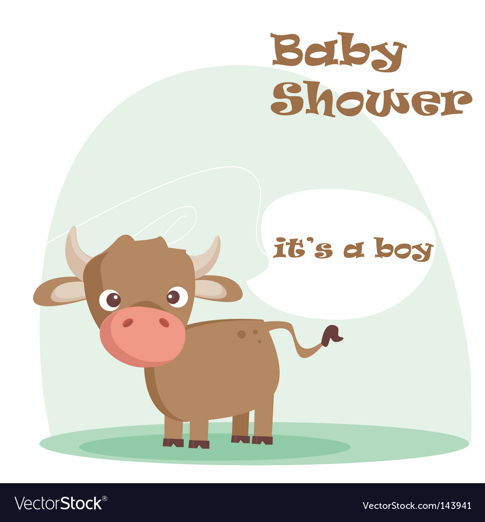 Baby shower background vector | Price: 1 Credit (USD $1)