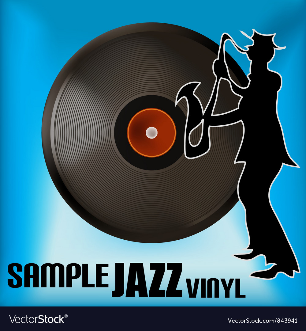 Jazz record vector | Price: 1 Credit (USD $1)